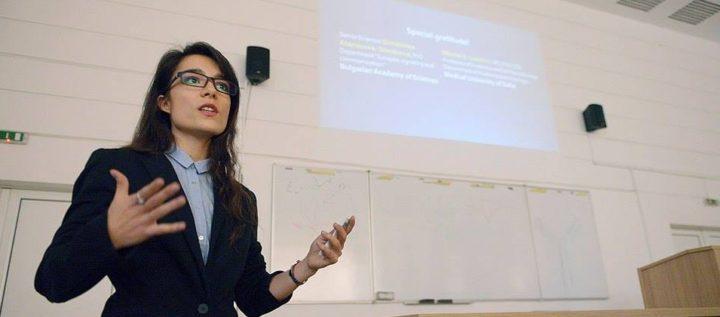 Мария Динкова за това какво е студент да се занимава с наука